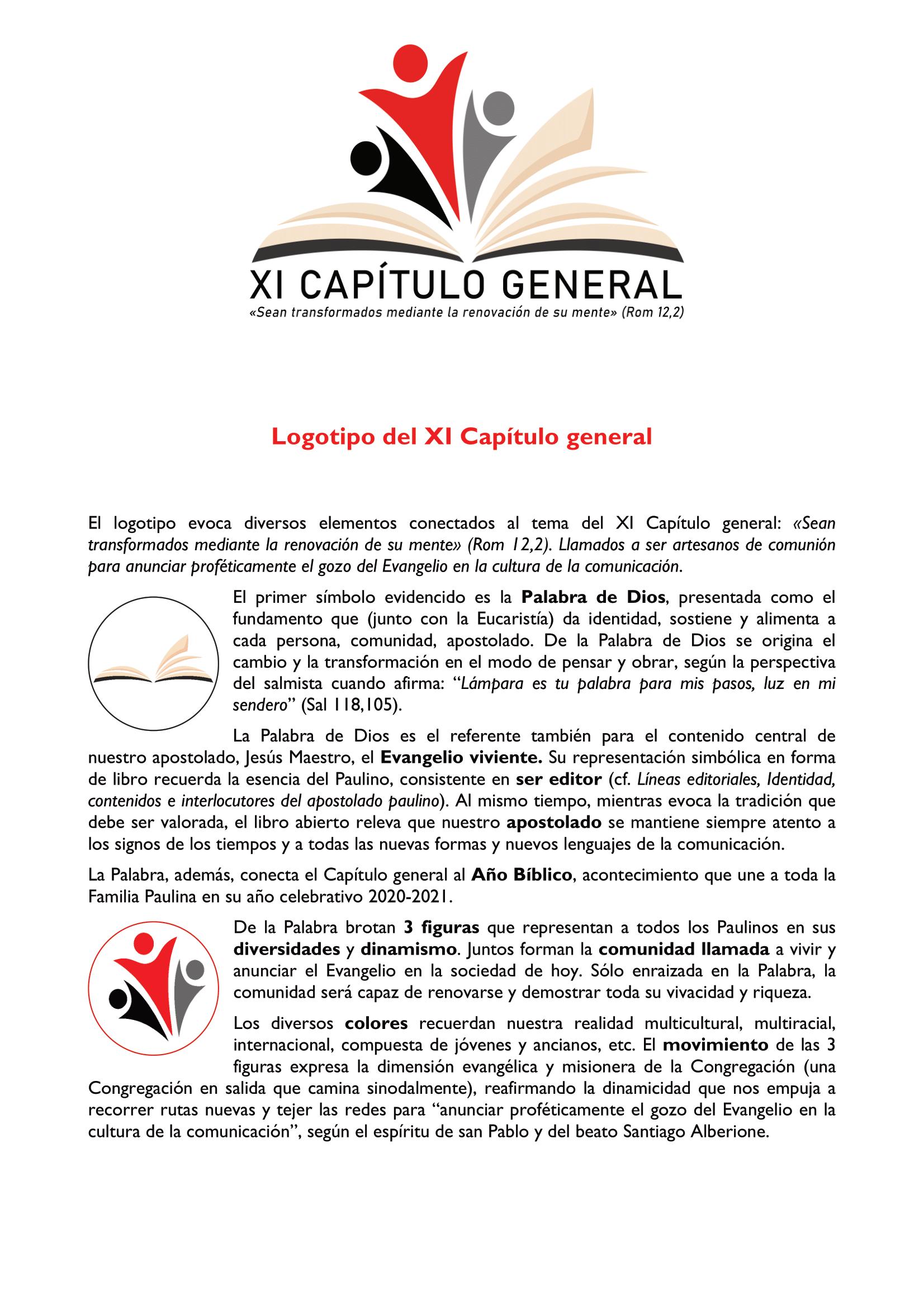 XI CAPÍTULO GENERAL