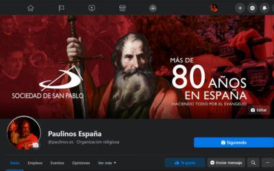 PAULINOS ESPAÑA EN FACEBOOK