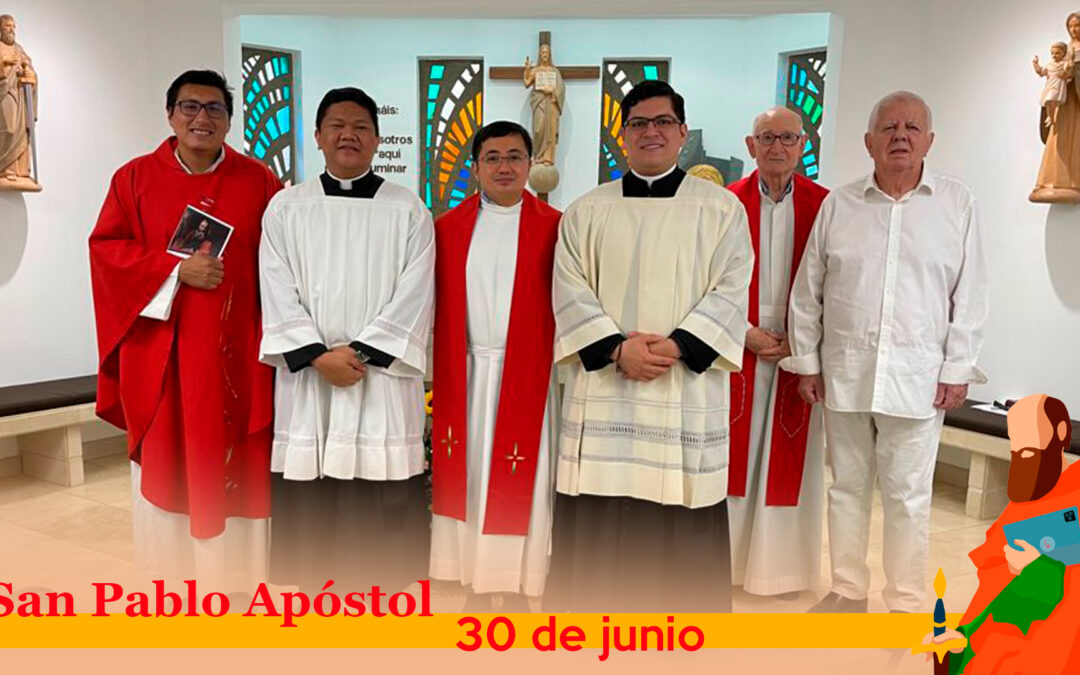 CELEBRACIÓN DE SAN PABLO APÓSTOL, PATRONO DE LA FAMILIA PAULINA